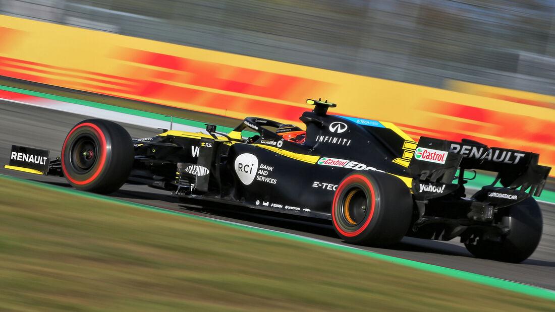 Esteban Ocon - Renault - Formel 1 - GP Eifel - Nürburgring - Samstag - 10.10.2020
