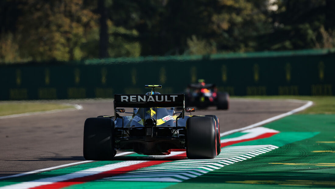 Esteban Ocon - Renault - Formel 1 - GP Emilia-Romagna - Imola - Samstag - 31.10.2020