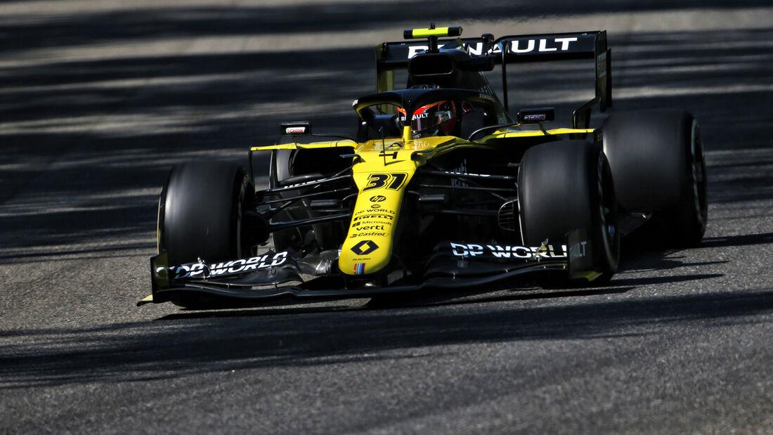 Esteban Ocon - Renault - Formel 1 - GP Italien - Monza - 4. September 2020
