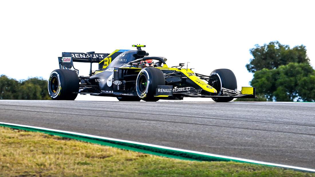 Esteban Ocon - Renault - Formel 1 - GP Portugal - Portimao - 23. Oktober 2020