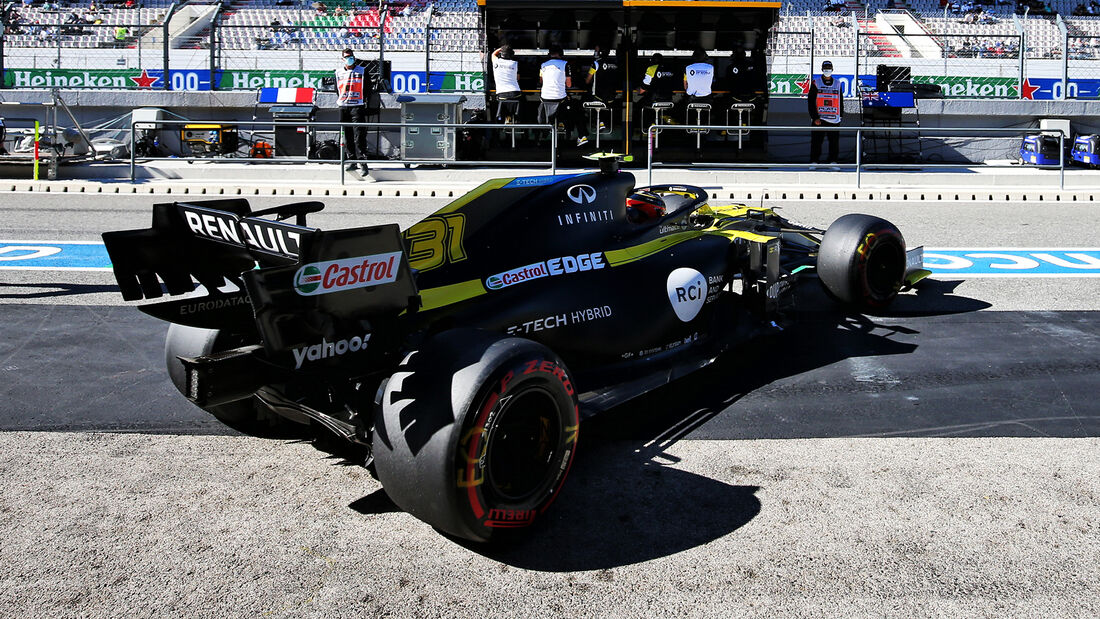 Esteban Ocon - Renault - Formel 1 - GP Portugal - Portimao - 24. Oktober 2020