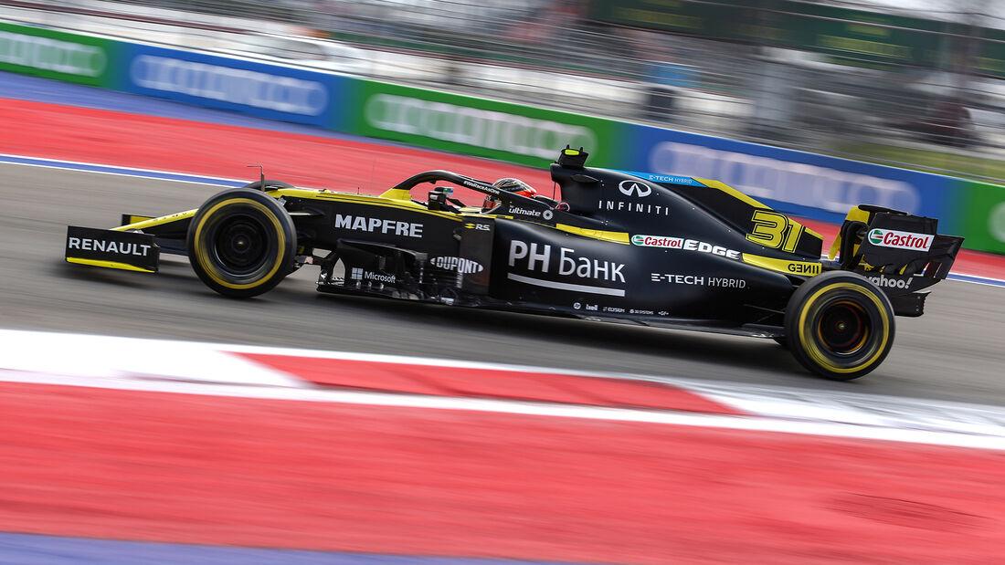Esteban Ocon - Renault - Formel 1 - GP Russland - Sotschi - 26. September 2020