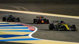 Esteban Ocon - Renault - Formel 1 - GP Sakhir - Bahrain - Freitag - 4.12.2020