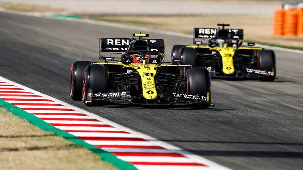 Esteban Ocon - Renault - Formel 1 - GP Spanien - Barcelona - 14. August 2020