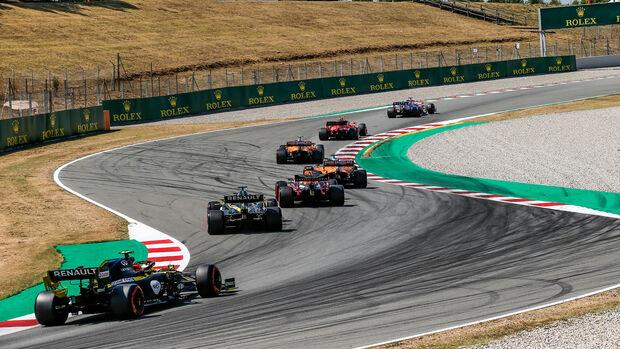Esteban Ocon - Renault - Formel 1 - GP Spanien - Barcelona - Qualifying - Samstag - 15. August 2020