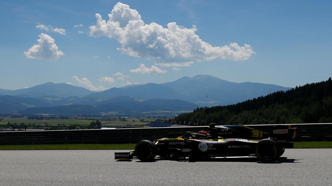 Esteban Ocon - Renault - Formel 1 - GP Steiermark - Österreich - Spielberg - 10. Juli 2020