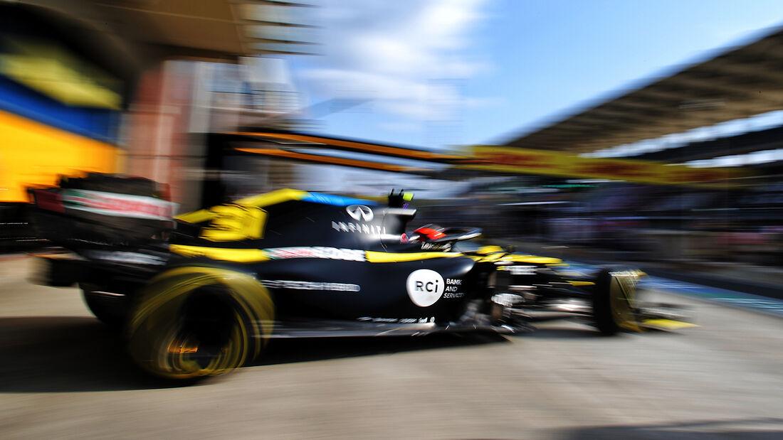 Esteban Ocon - Renault - Formel 1 - GP Türkei - Istanbul - Freitag - 13.11.2020