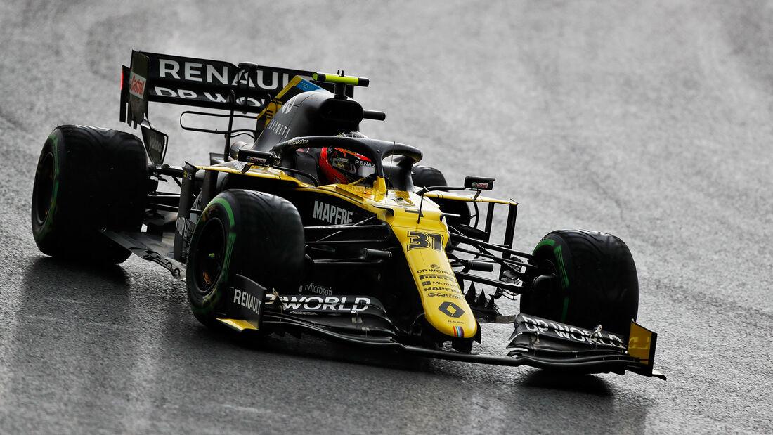Esteban Ocon - Renault - Formel 1 - GP Türkei - Istanbul - Samstag - 14.11.2020