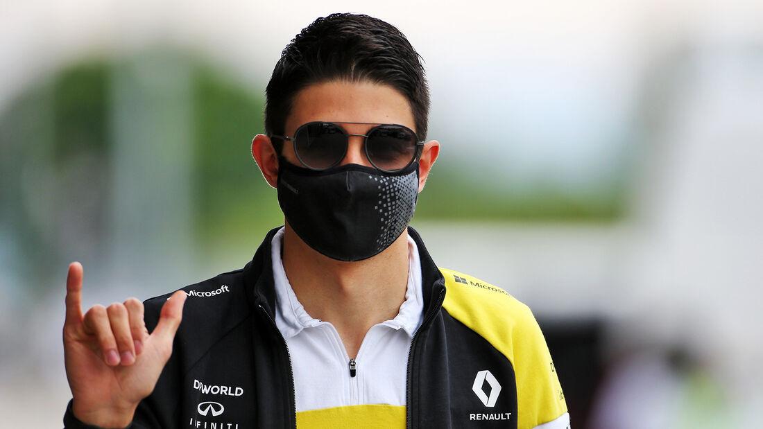 Esteban Ocon - Renault - Formel 1 - GP Ungarn - Budapest - 16. Juli 2020