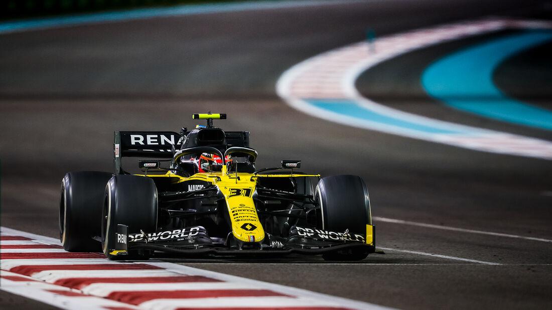 Esteban Ocon - Renault - GP Abu Dhabi 2020