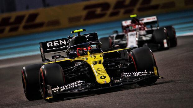 Esteban Ocon - Renault - GP Abu Dhabi 2020 - Qualifikation