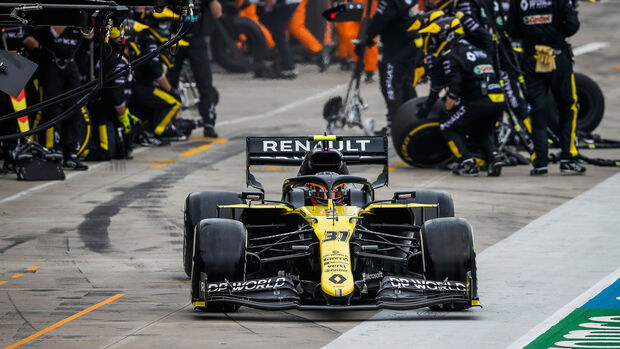 Esteban Ocon - Renault - GP Emilia-Romagna 2020 - Imola