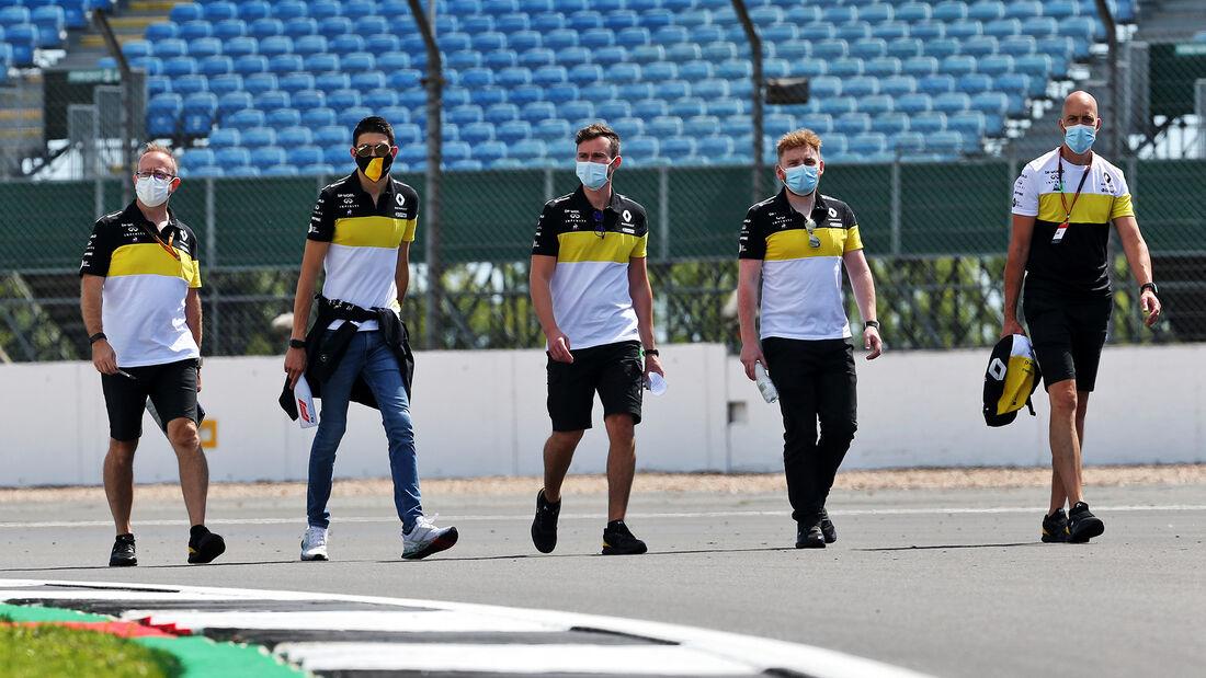 Esteban Ocon - Renault - GP England  - Silverstone - 30. Juli 2020