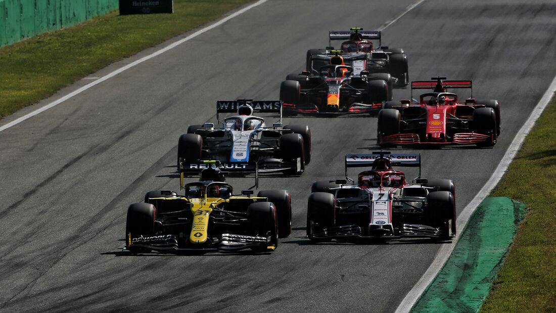 Esteban Ocon - Renault - GP Italien 2020 - Monza
