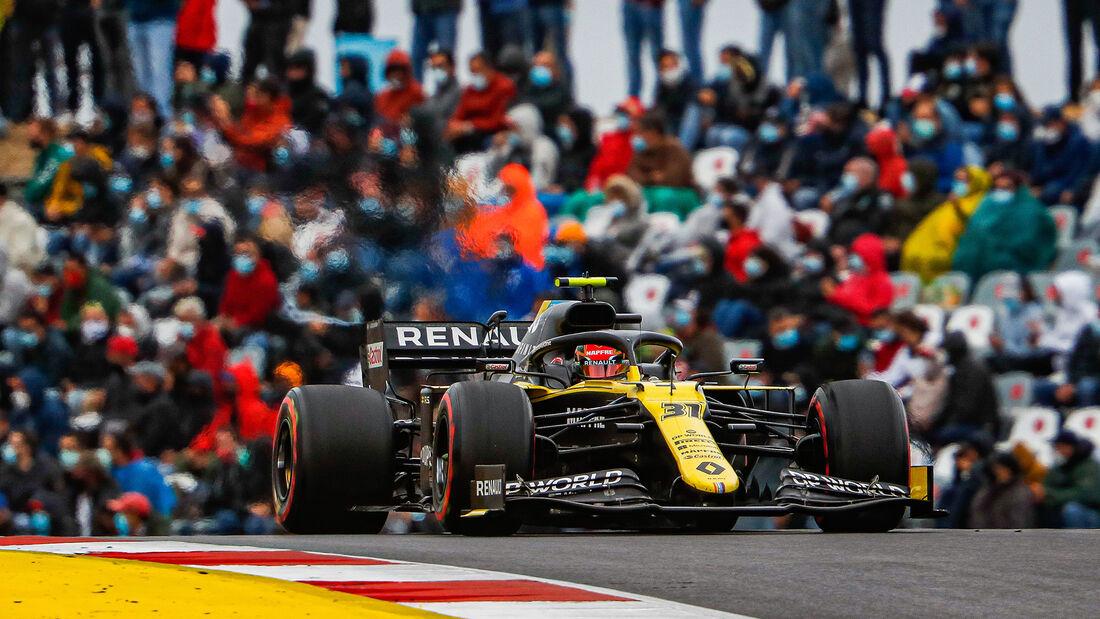 Esteban Ocon - Renault - GP Portugal 2020 - Portimao