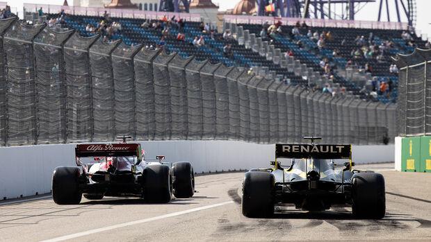 Esteban Ocon - Renault - GP Russland - Sotschi - Formel 1 - 2020