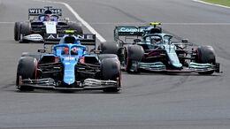 Esteban Ocon - Sebastian Vettel - GP Ungarn 2021 - Budapest