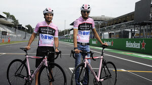 Esteban Ocon & Sergio Perez - Force India - GP Italien - Monza - Formel 1 - 31. August 2017