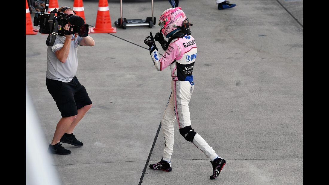 Esteban Ocon - Stats - GP Japan 2017