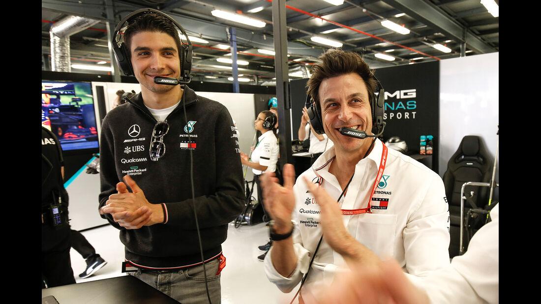 Esteban Ocon & Toto Wolff - Formel 1 - GP Australien 2019