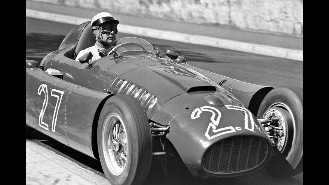 Eugenio Castelotti - Lancia D50 - GP Monaco 1955.
