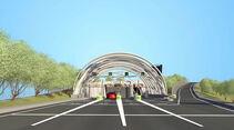Eurasian-Tunnel Istanbul Türkei Screenshot