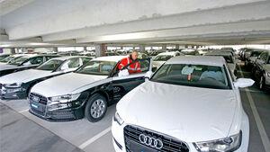 Euro-6-Neuzulassungen, Audi