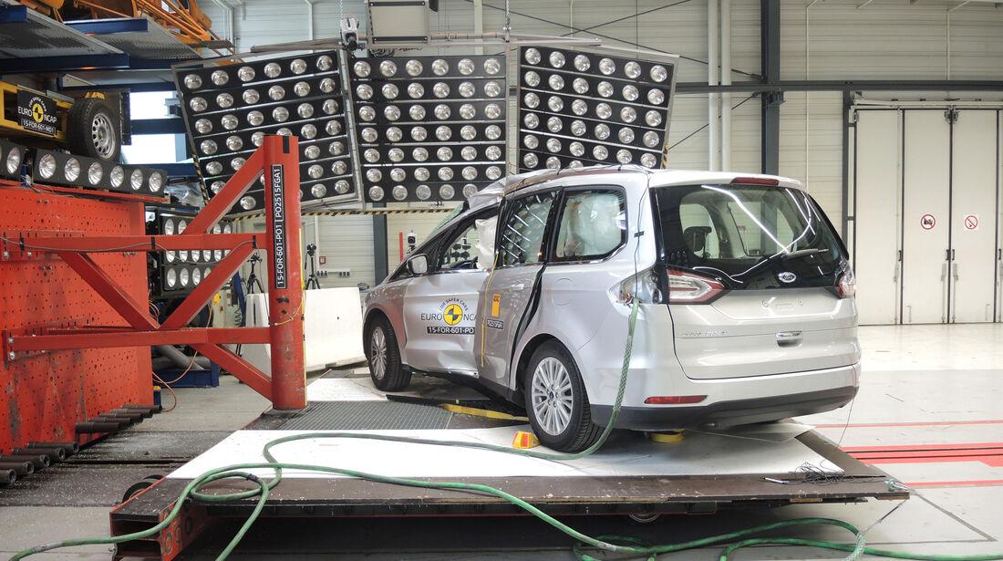 Euro NCAP - Crashtest Ford Galaxy