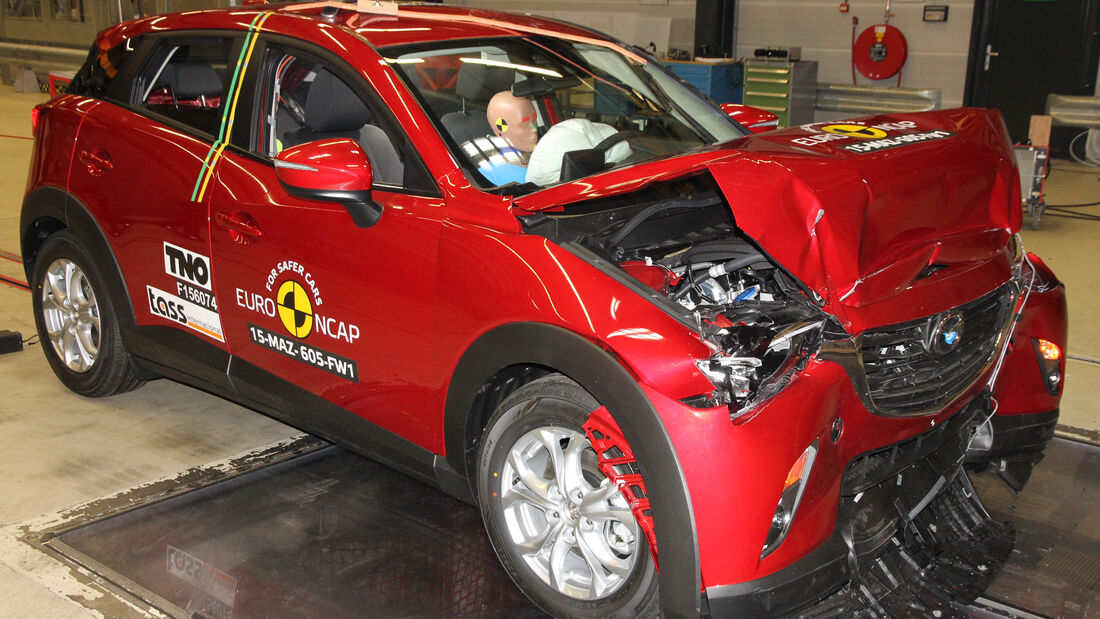 Euro NCAP - Crashtest Mazda CX-3