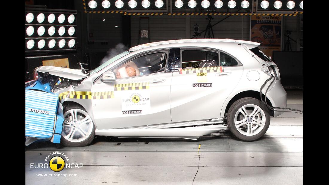 Euro NCAP Crashtest Mercedes A Klasse