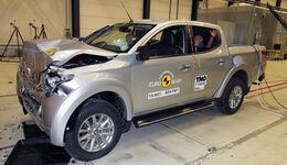 Euro NCAP - Crashtest Mitsubushi L200