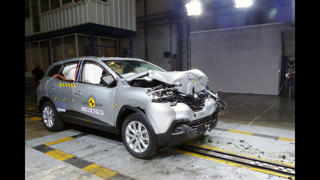 Euro NCAP - Crashtest Renault Kadjar