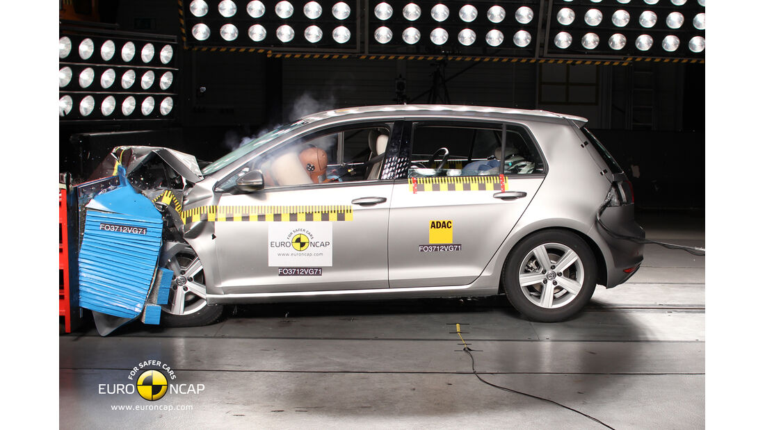 Euro NCAP - Crashtest VW GOLF 7