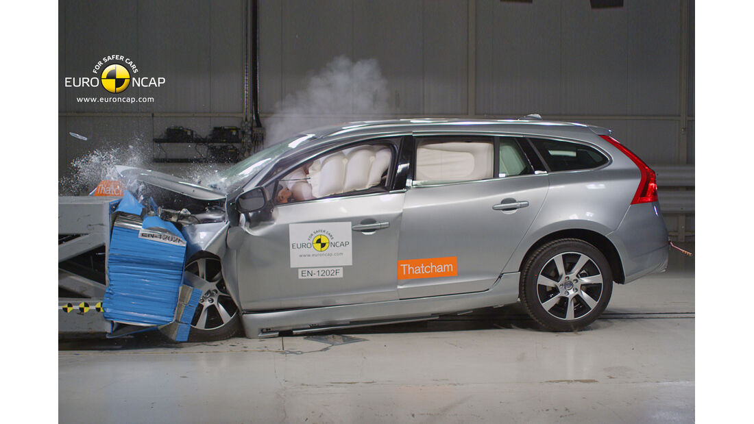 Euro NCAP - Crashtest  Volvo V60