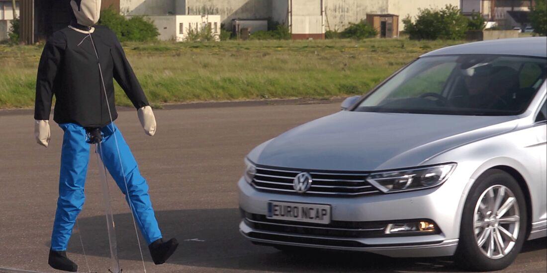 Euro NCAP Tests AEB Bremssysteme Driver Assist