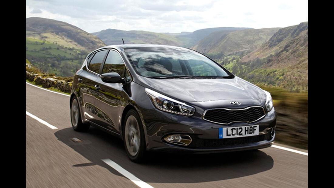 EuroNCAP-Crahtest Kia Cee'd Uncrashed
