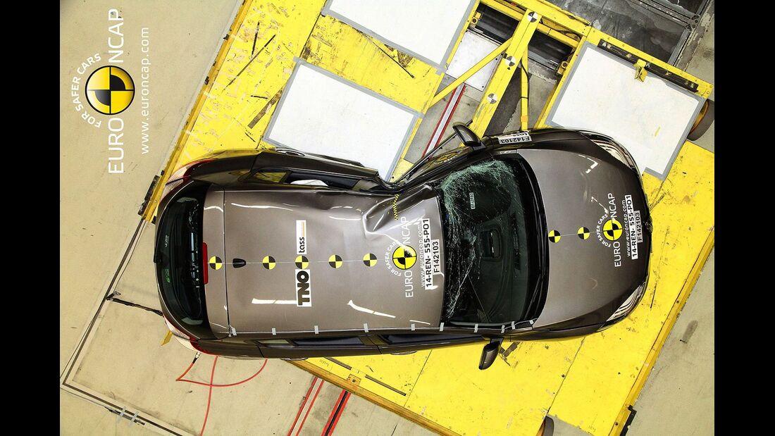 EuroNCAP Crashest Renault Megane