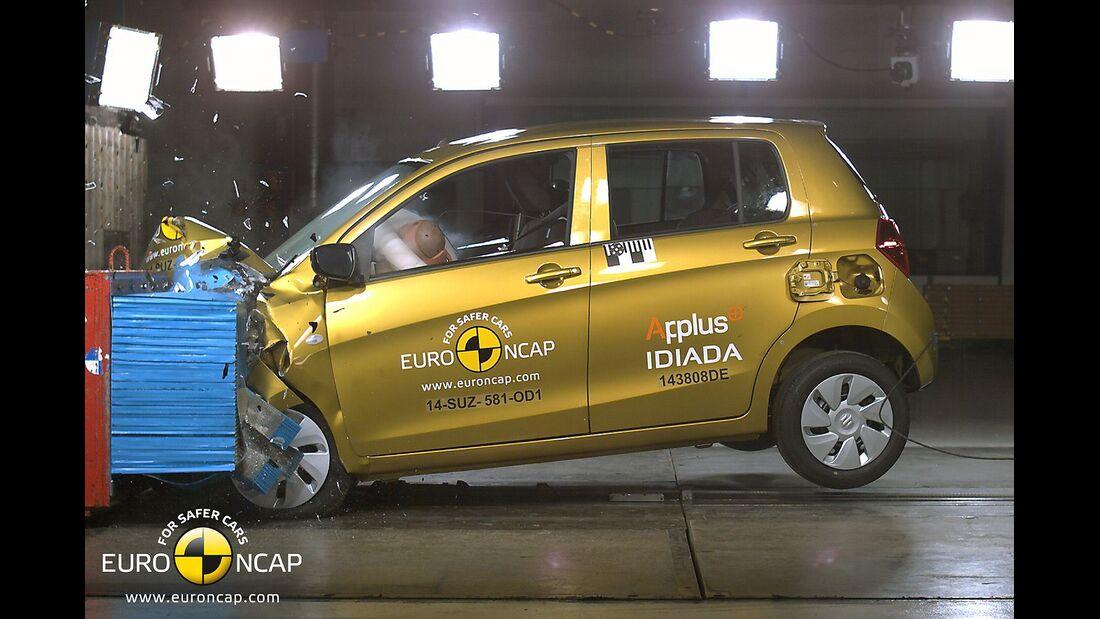 EuroNCAP Crashest Suzuki Celerio