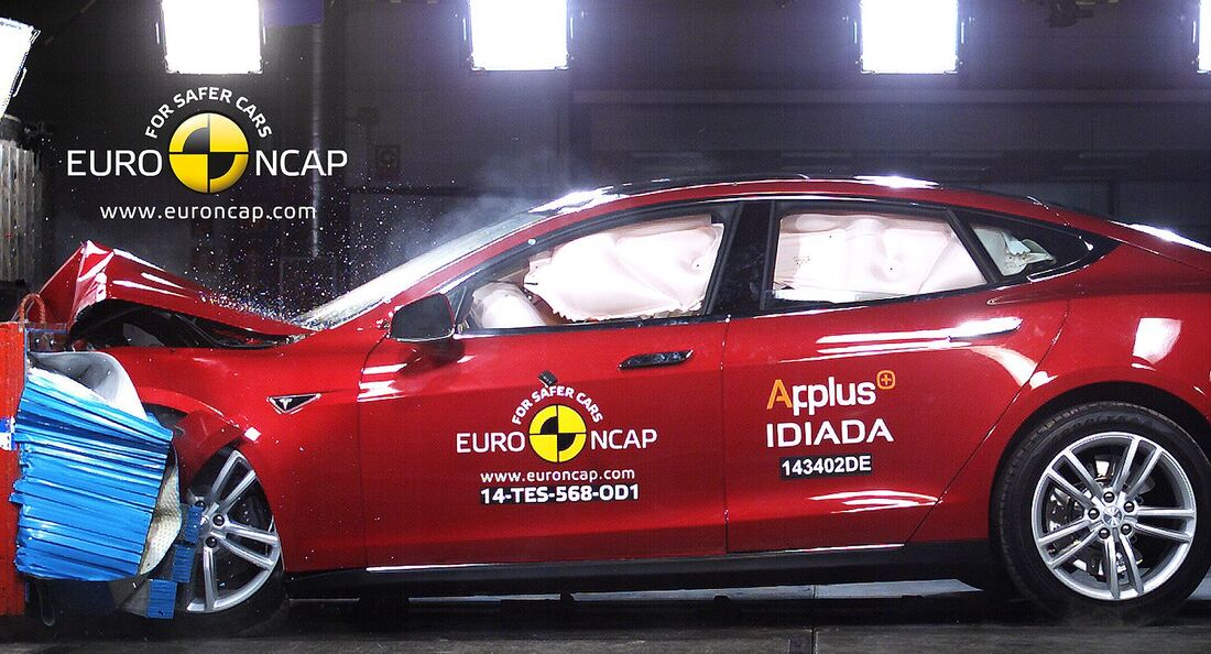 EuroNCAP Crashest Tesla Model S