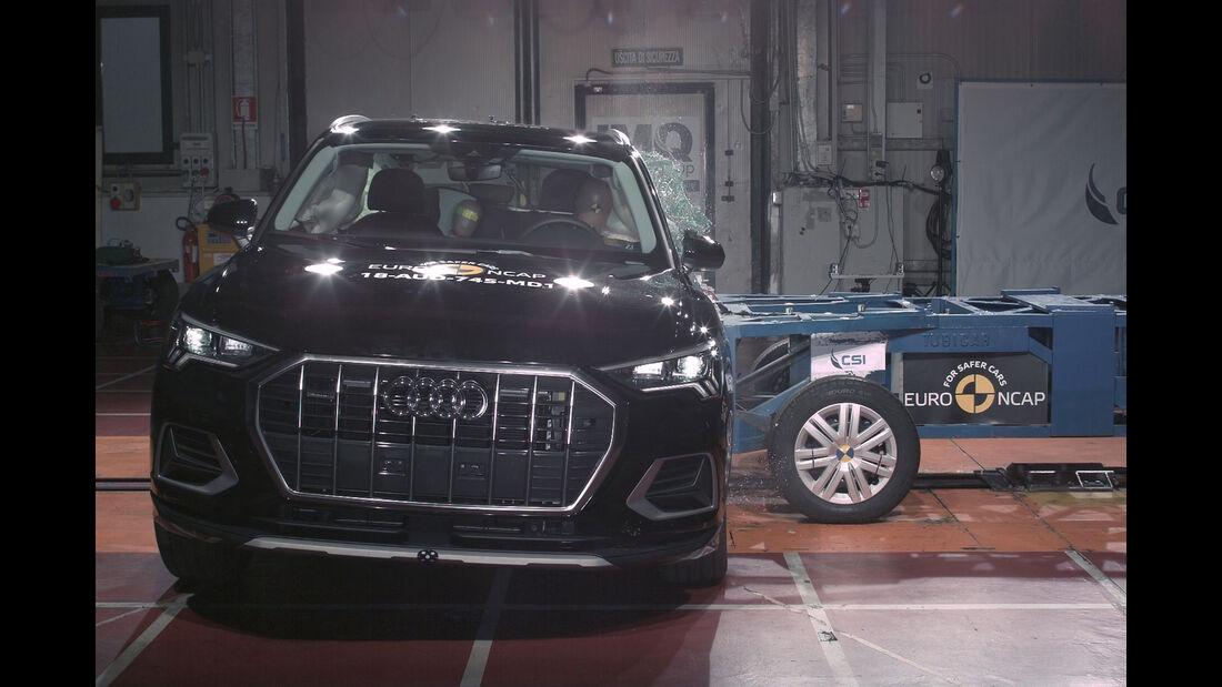 EuroNCAP Crashtest 12/2018 Audi Q3