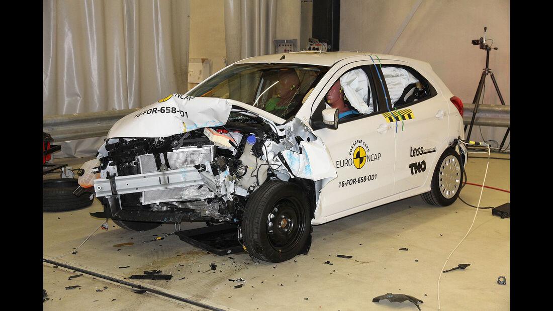 EuroNCAP Crashtest 2017 Ford Ka+