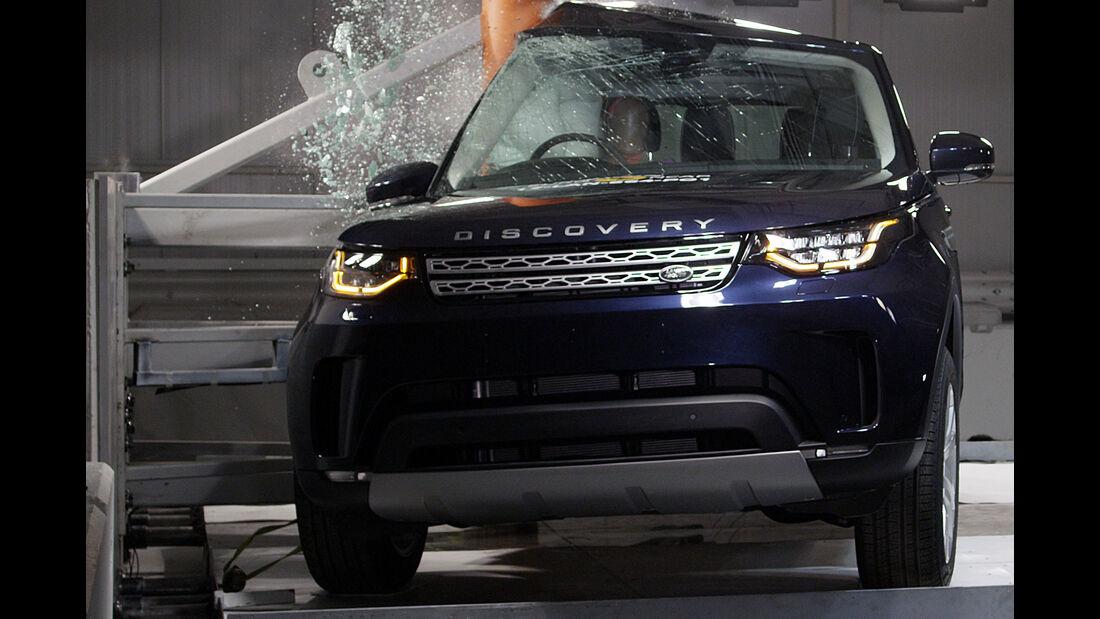 EuroNCAP Crashtest 2017 Land Rover Discovery