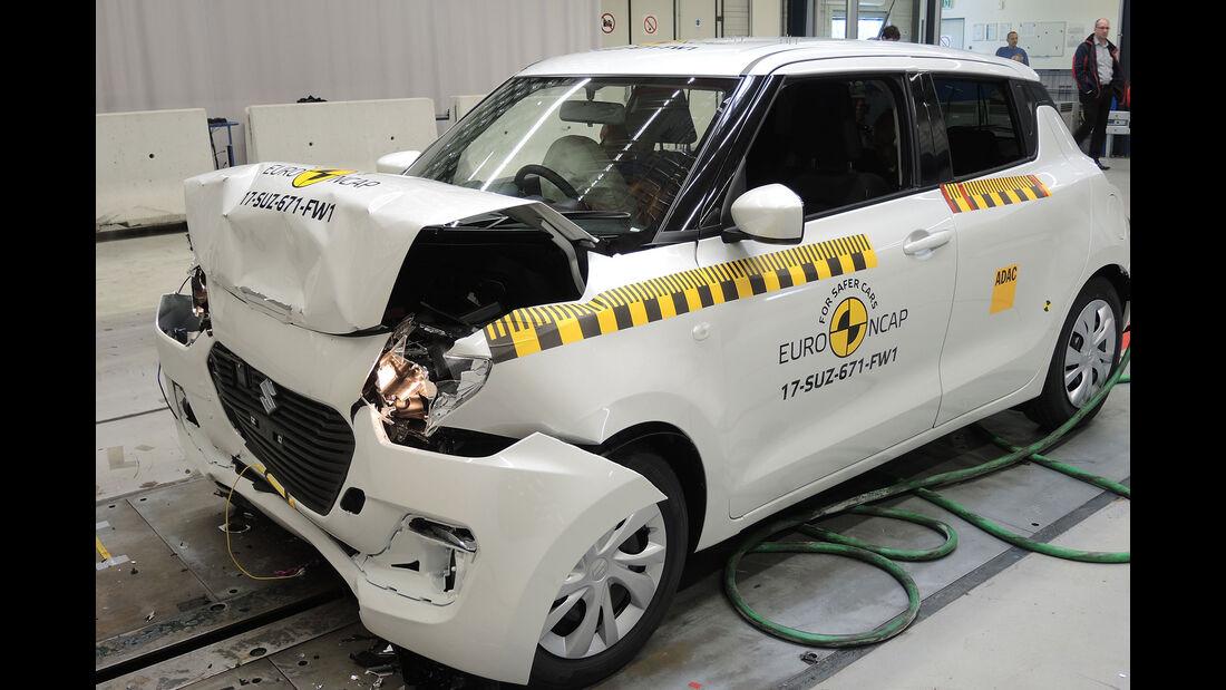 EuroNCAP-Crashtest 2017 Suzuki Swift