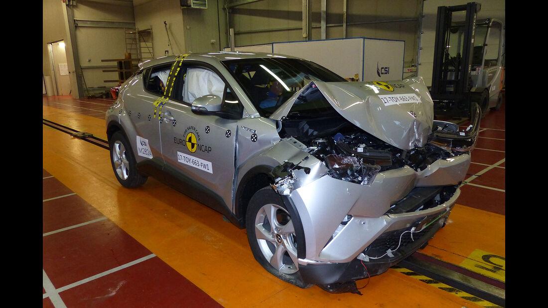 EuroNCAP Crashtest 2017 Toyota CH-R