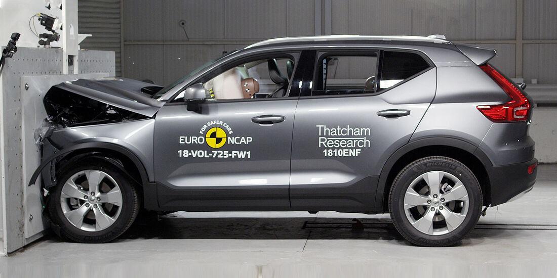 EuroNCAP Crashtest 2018 Volvo XC40