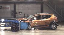 EuroNCAP Crashtest 2021 Dacia Sandero Stepway