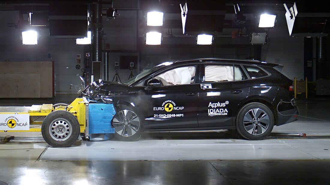 EuroNCAP Crashtest 2021 Skoda Enyaq iv