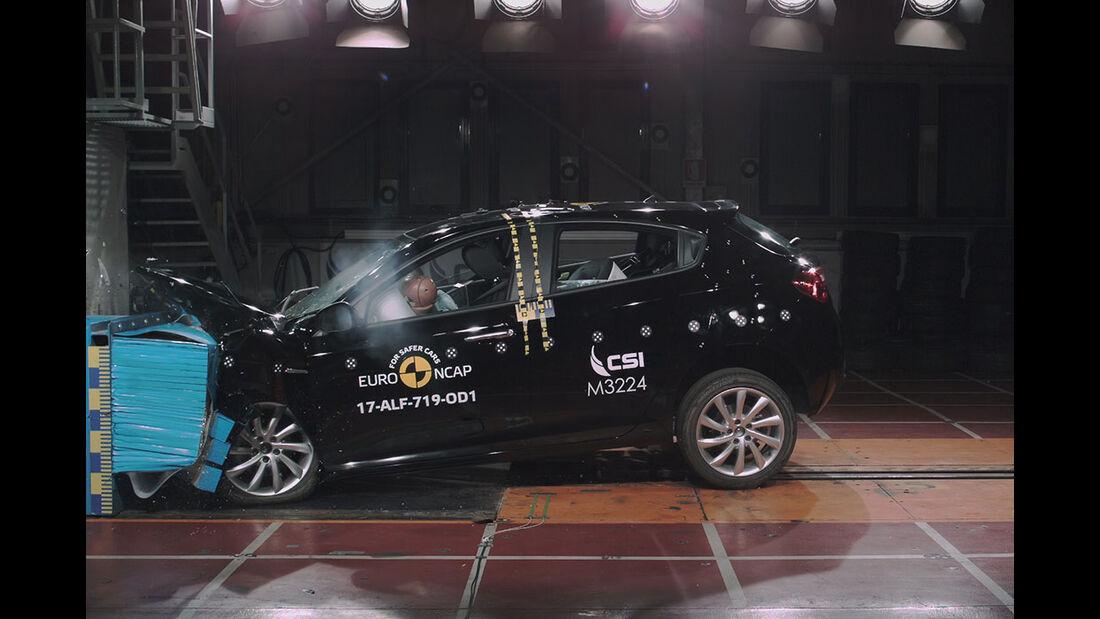 EuroNCAP Crashtest Alfa Giuletta