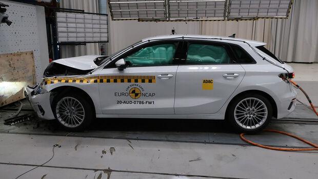 EuroNCAP-Crashtest Audi A3 2020