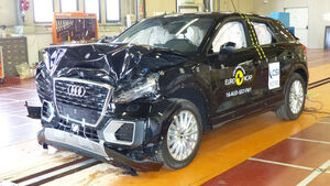 EuroNCAP Crashtest Audi Q2